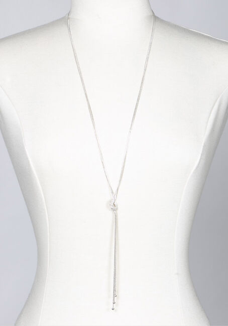 Women's Knotted Chain Necklace