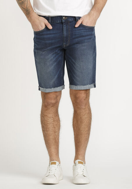 Men's Cuffed Denim Short