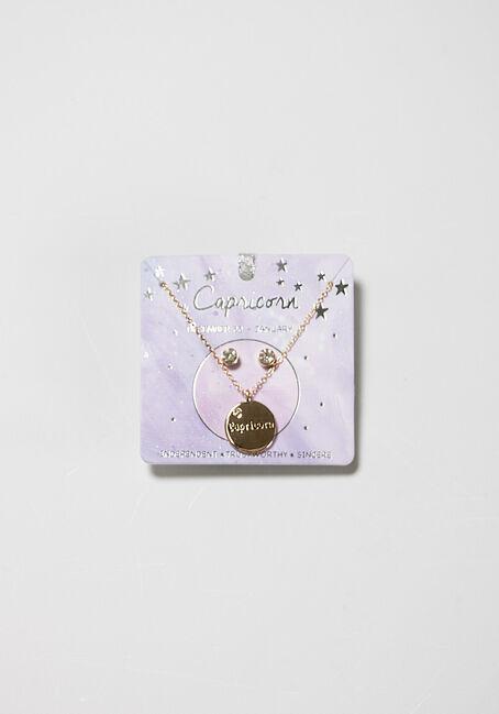 Women's Capricorn Necklace Set