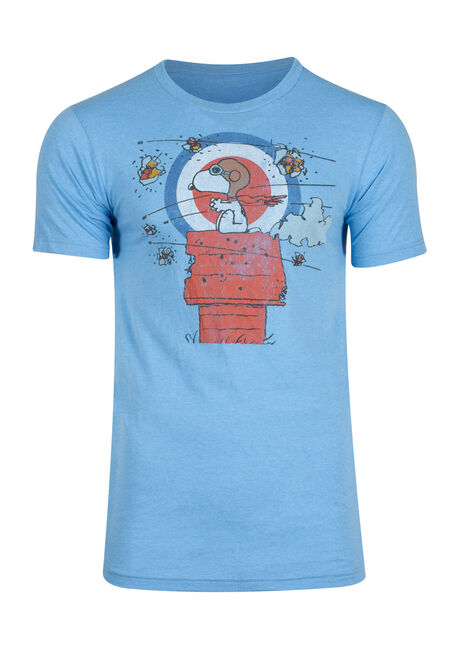 Men's Snoopy Red Baron Tee