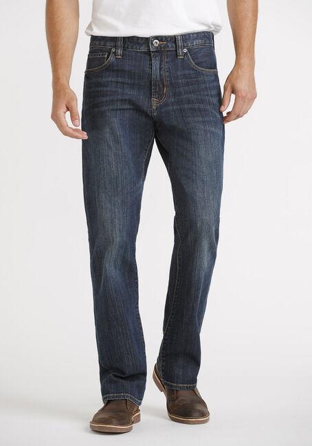 Men's Dark Classic Bootcut Jeans