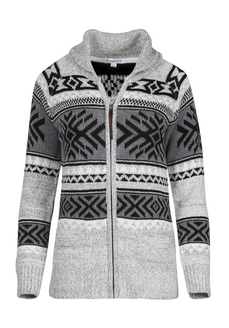 Ladies' Aztec Cardigan