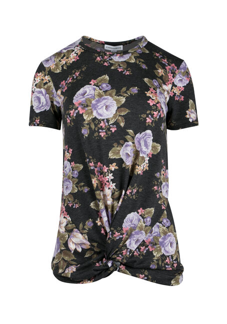 Ladies' Knotted Floral Top