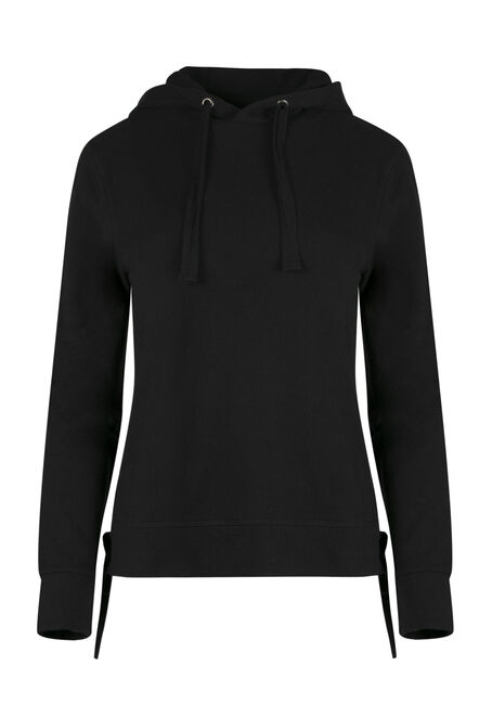 Ladies' Lace Up Grommet Hoodie