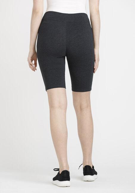 Women's Biker Short, CHARCOAL, hi-res