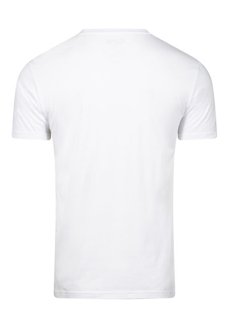 Men's Cactus Bar Tee, WHITE, hi-res