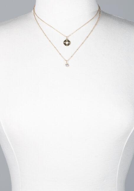 Women's adventure layered necklace