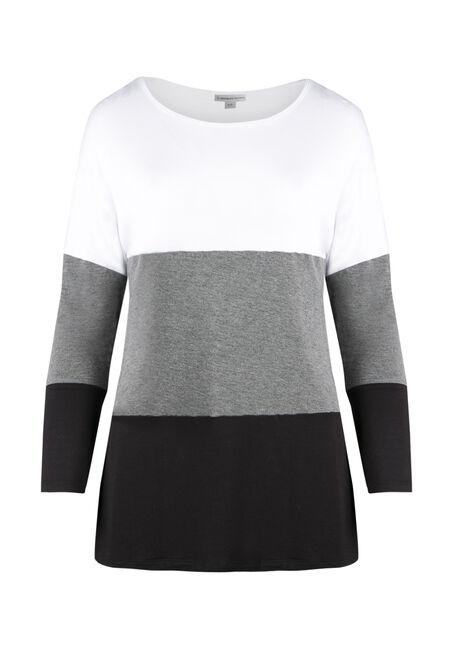 Ladies' Colour Block Tunic Top