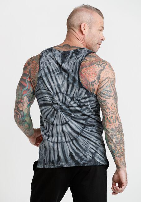 Men's Muscle Tank, BLACK, hi-res