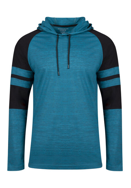 Men's Everyday Hooded Football Tee
