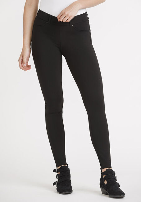 Women's 4 Pocket Pull On Legging
