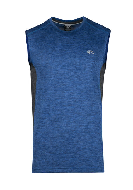 Men's Colour Block Athletic Tank