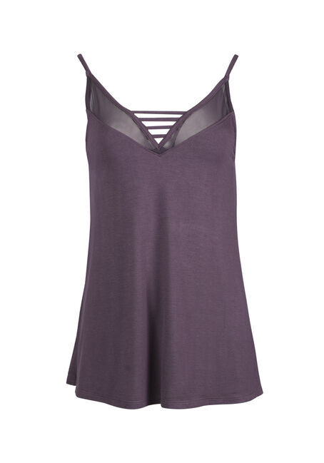 Ladies' Mesh Ladder Neck Tank