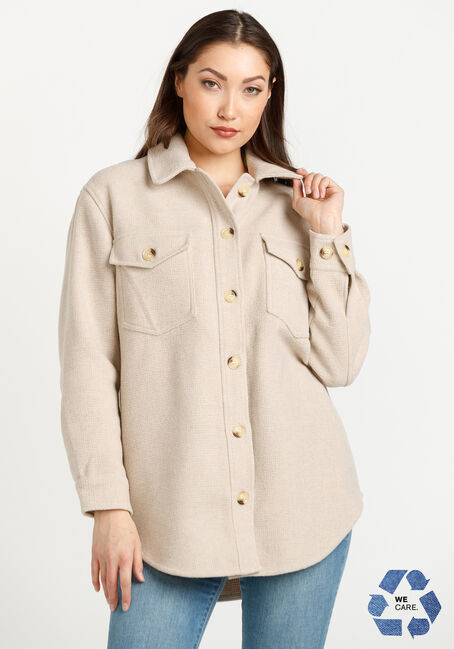 Women's Button Front Shacket