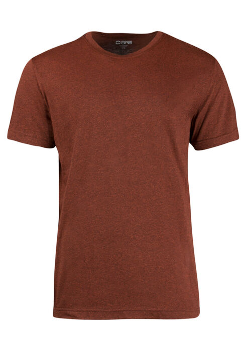 Men's Everyday Crew Neck Tee, Rust, hi-res
