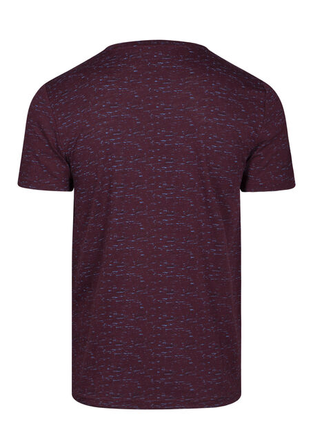 Men's Everyday Crew Neck Tee, PLUM WINE, hi-res