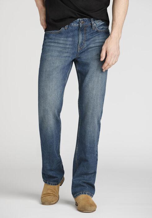 Men's Performance Classic Boot Jeans, MEDIUM WASH, hi-res