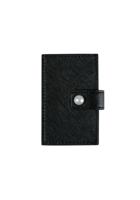 Women's Card Holder, BLACK, hi-res