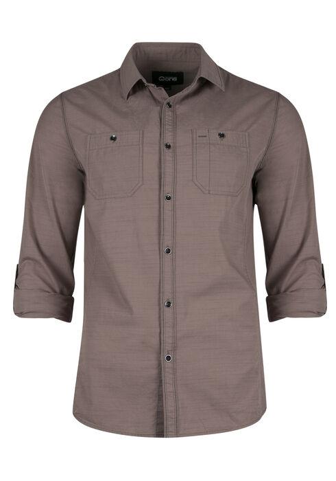 Men's Utility Shirt, SAND, hi-res