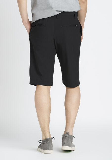Men's Hybrid Short, BLACK, hi-res