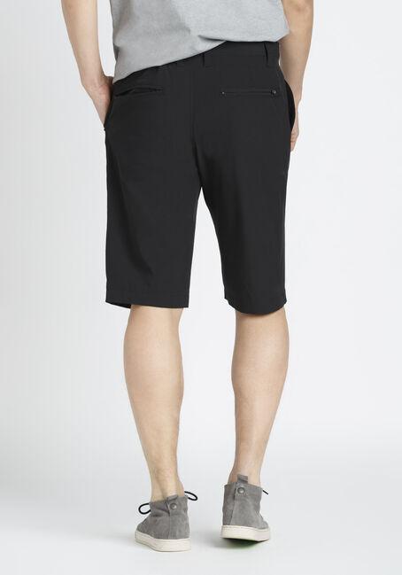 Men's Hybrid Short, BLACK, hi-res