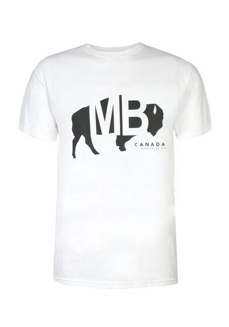 Men's Manitoba Buffalo Tee