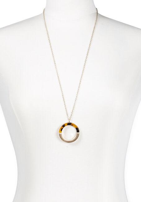 Women's Semi Circle Tortoise Necklace