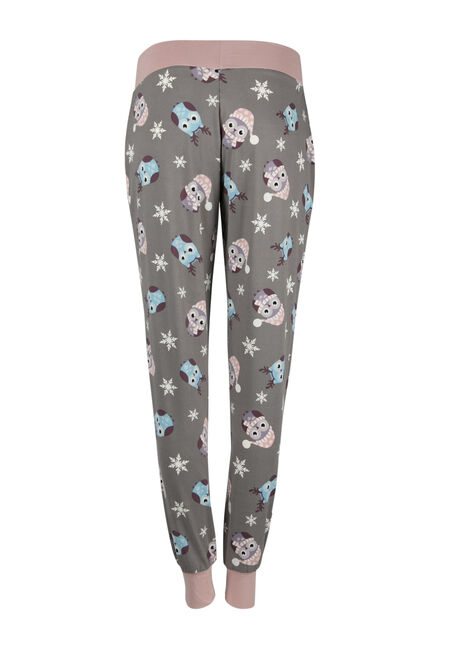 Ladies' Owl Jogger, GREY, hi-res