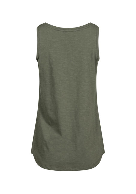 Women's Scoop Neck Tank, MOSS, hi-res