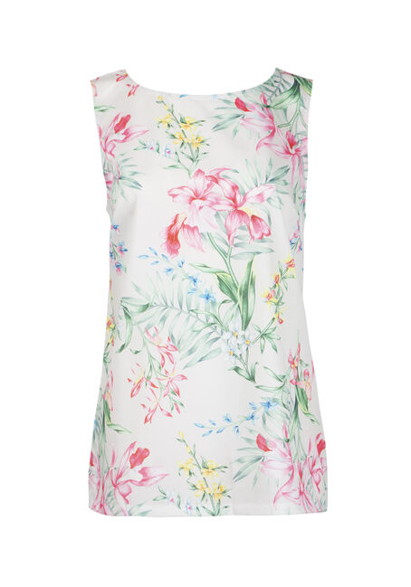 Women's Tropical Flower Tank