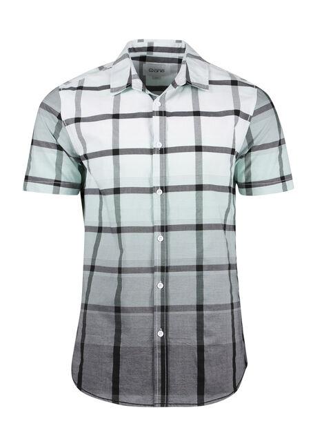 Men's Ombre Plaid Shirt