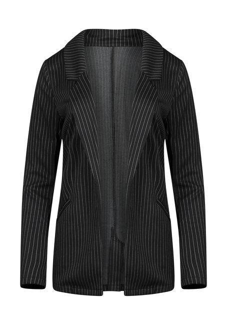 Women's Pinstripe Blazer