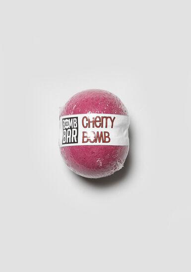 Black Cherry Bath Bomb, BURGUNDY/BLACK, hi-res