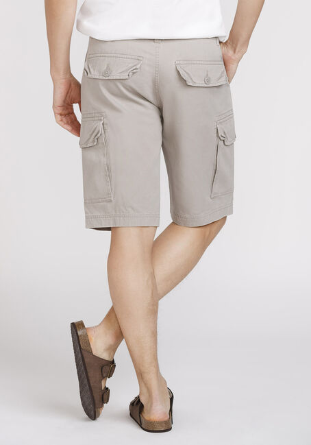 Men's Cargo Short, STONE, hi-res