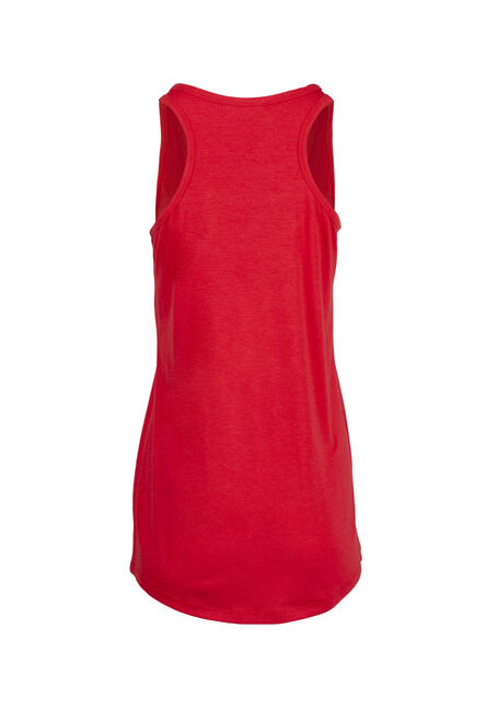 Women's Made In Canada Tank, RED, hi-res