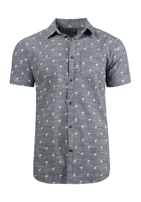 Men's Flamingo Chambray Shirt