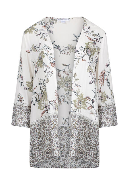Women's Floral Kimono