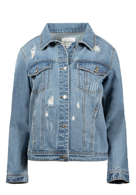 Women's Boyfriend Jean Jacket