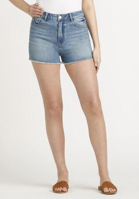 Women's High Rise Vintage Frayed Hem Short