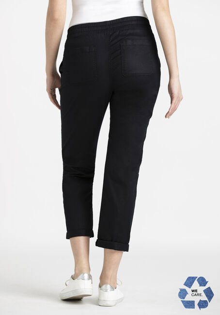 Women's Pull-on Weekender Soft Pant, BLACK, hi-res