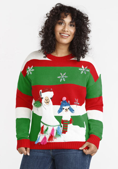 Women's Llama Sweater