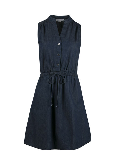 Ladies' Denim Shirt Dress