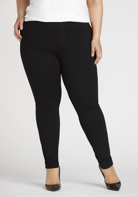 Ladies' Plus Pull On Skinny Pants