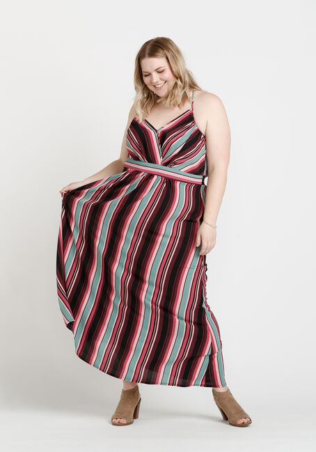 Women's Maxi Dress, MULTI, hi-res