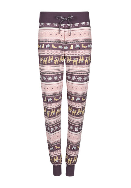 Ladies' Critter Stripe Jogger