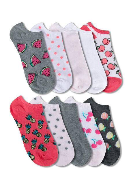 Women's 10 Pair Fruit Socks