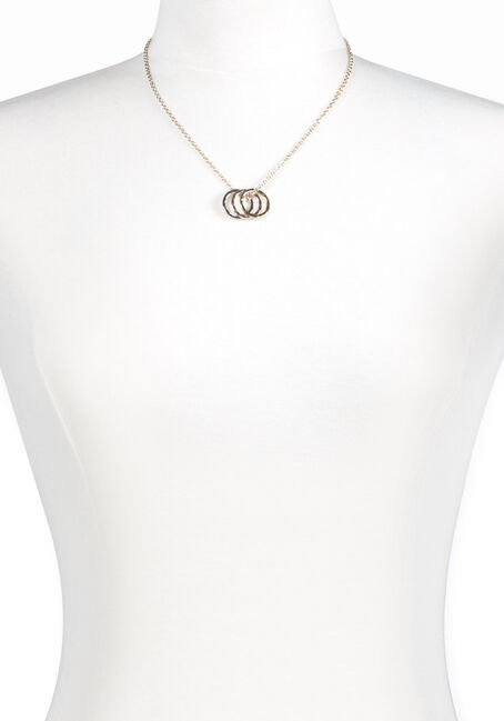 Women's Trio Rings Necklace