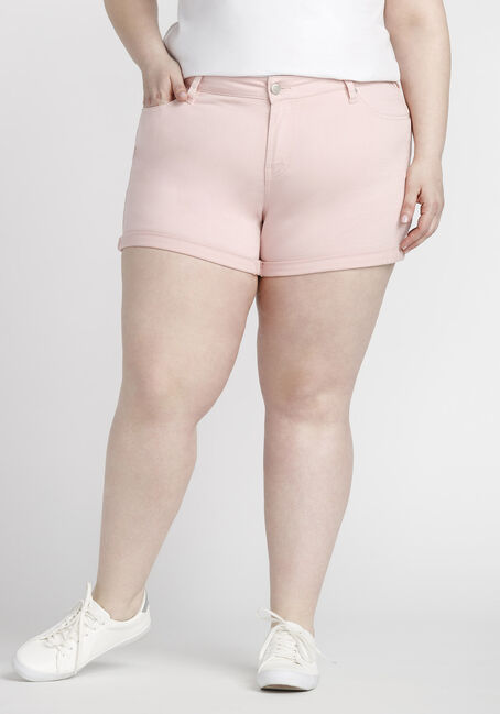 Women's Plus Size Coloured Not-So-Short Short