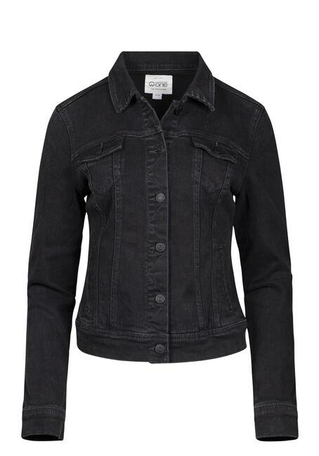 Women's Black Jean Jacket