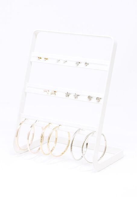 Women's 9 Pair Earring Set